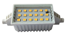 RealLED LED Stablampe R7s 78 mm 6 Watt Warmweiß 2700 Kelvin - 1